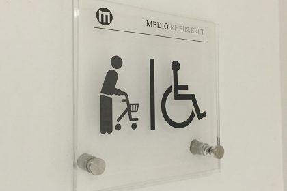 MEDIO.RHEIN.ERFT Bergheim Behinderten-WC
